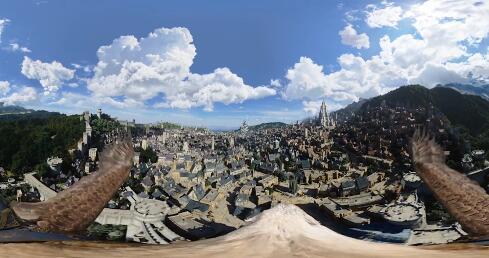 魔兽世界预告片VR剧情